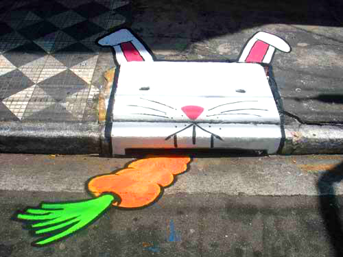 Rabbit Sewer!